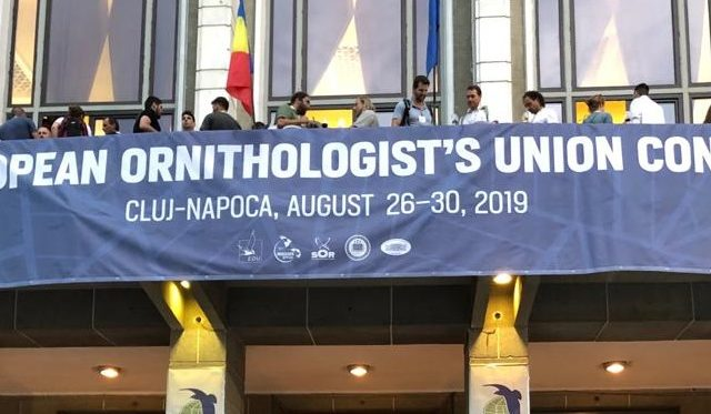 Members of the University of Murcia and Salinera Española attend the 12th Congress of the European Ornithological Union