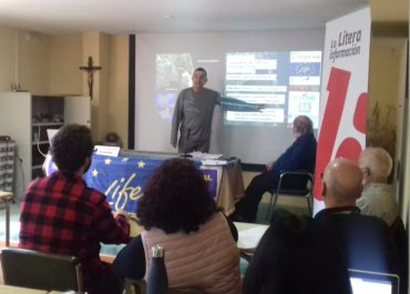 Members of LIFE Salinas participate in the III International Congress on salt in Peralta de la Sal (Huesca)