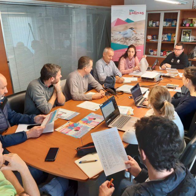 Follow-up meeting of the LIFE-Salinas team
