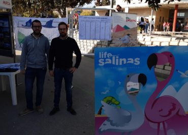 LIFE-Salinas participates in the First exhibition of University degrees for fourth-year students of secondary school