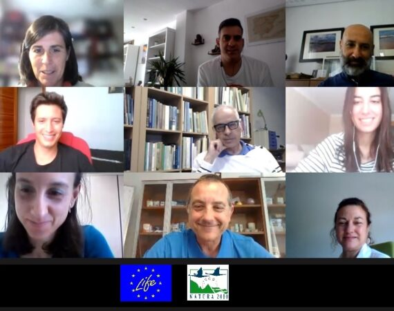 The second annual follow-up meeting of the LIFE Salinas Project was held with the presence of the Project Monitor Ainhoa Darquistade of NEEMO.