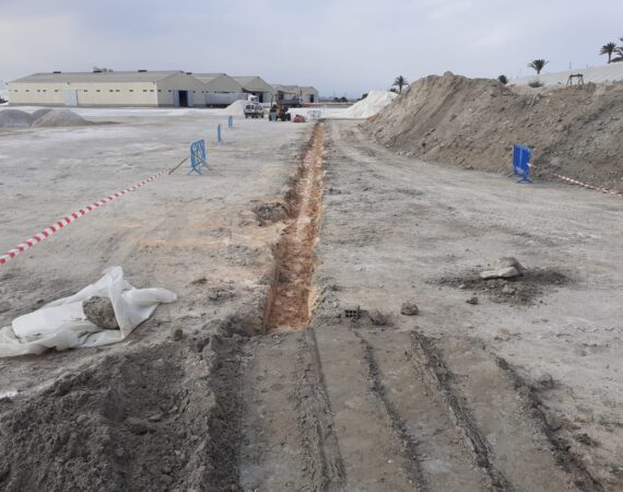 Green infrastructure: connection of the Coterillo pond with the salt circuit