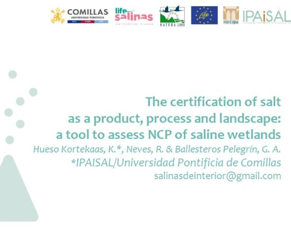The LIFE Salinas Project will attend the XX Limnology Congress