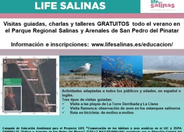 Start of the LIFE Salinas Project's environmental education campaign
